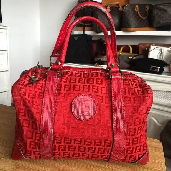 Fendi travel bag, Boston type